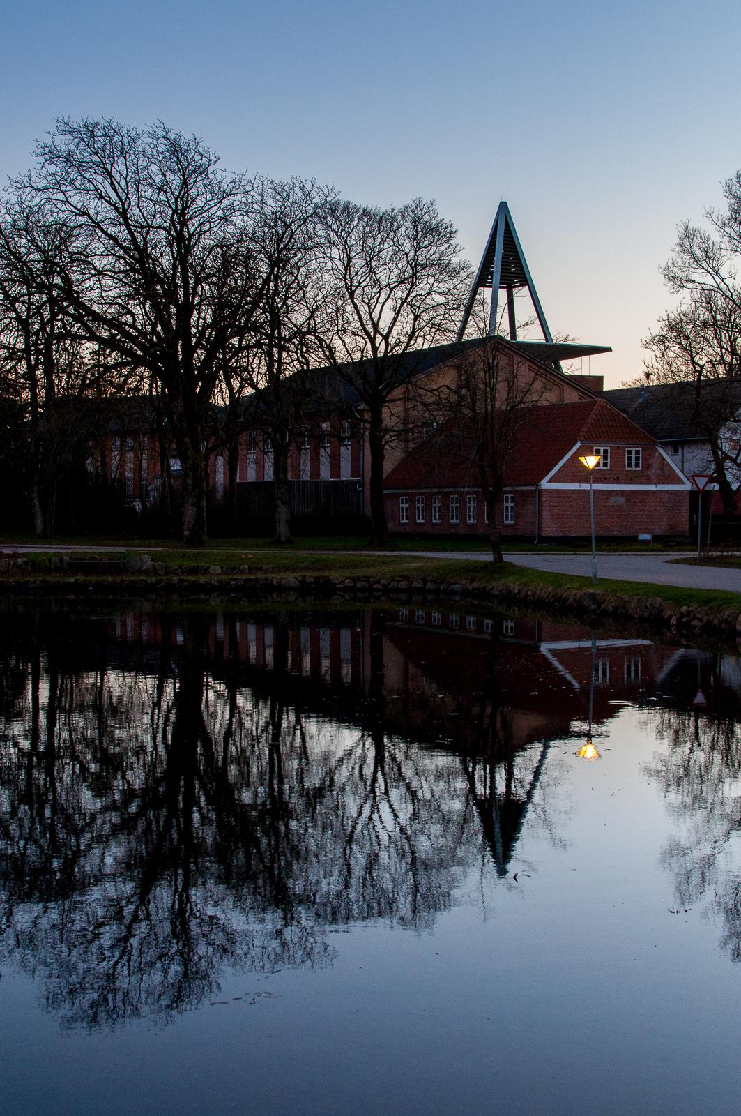 Askov Højskole spejling
