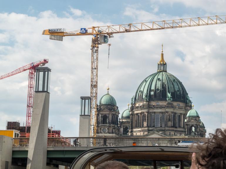 Berlin med kraner