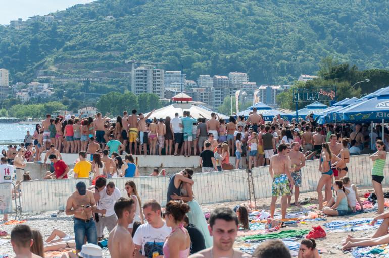 Slovenska Plaza strandliv uden lyd