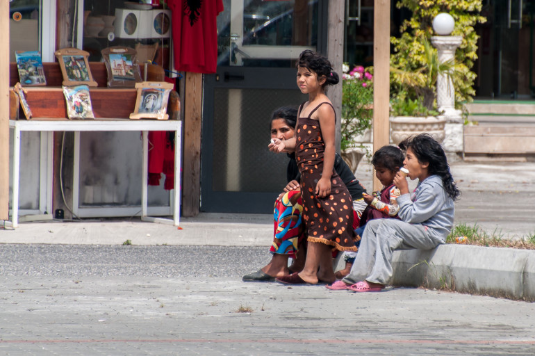 Albanien børn
