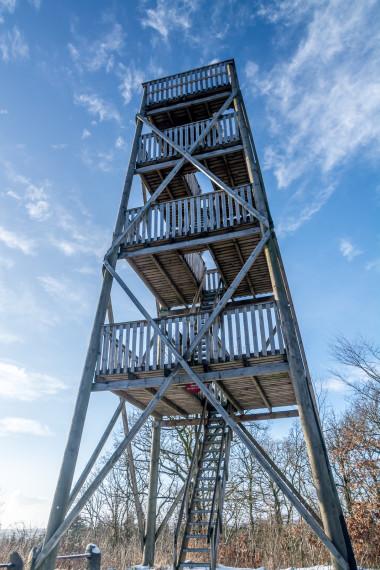 Tårn Hundsbæk efter