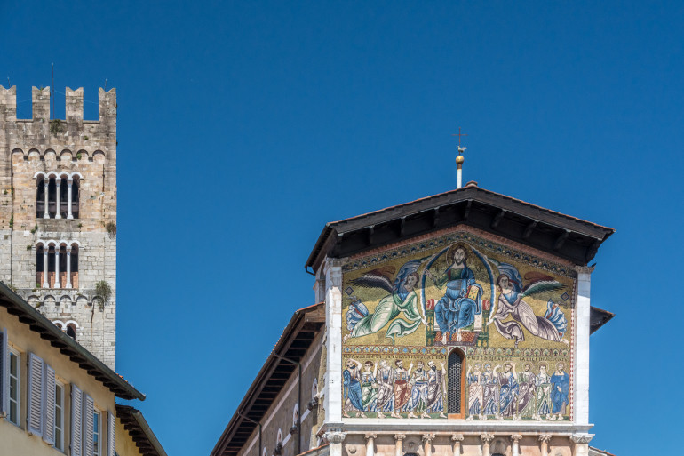 Lucca buildings