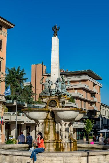 Montecatini Terme byens torv
