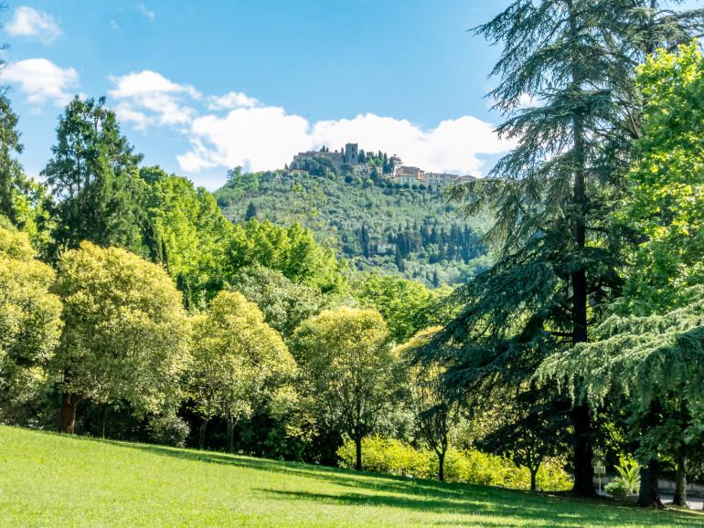 Montecatini Terme med udsigt til Alto