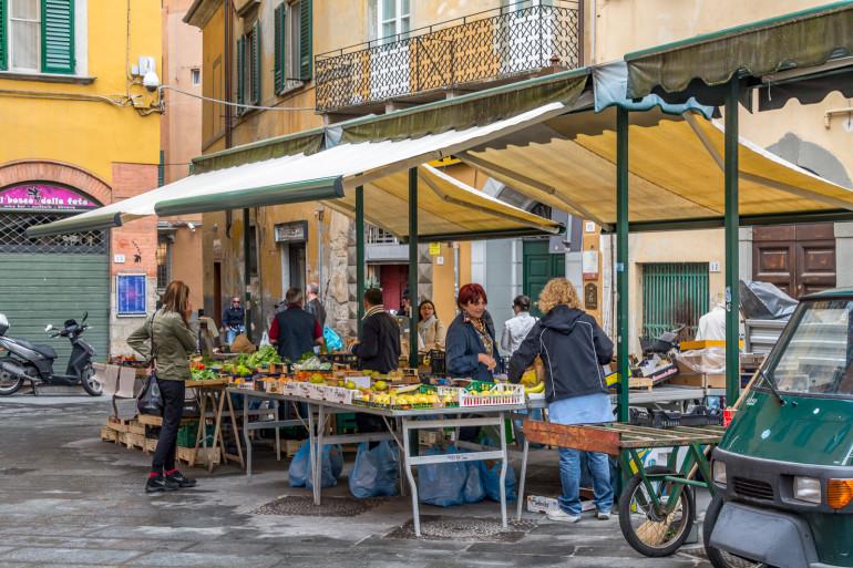 Pisa frugtmarked