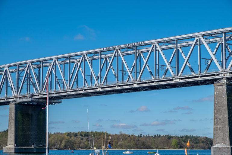 Lillebæltsbro med bridgewalkere